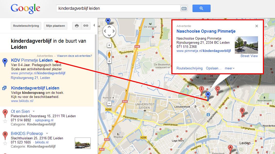 adverteren in google maps dit zijn de mogelijkheden. Black Bedroom Furniture Sets. Home Design Ideas