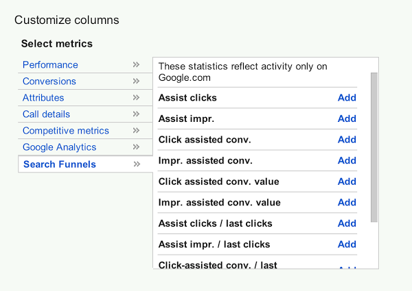 how to find assisted conversions google analytics
