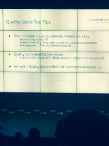 Quality score tips