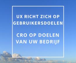 CRO vs UX