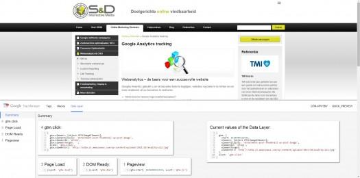 Google Tag Manager - Voorbeeld weergeven en debuggen