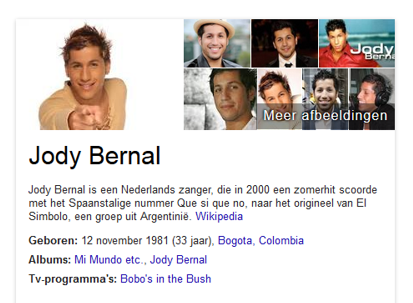 Google Knowledge Graph met gestructureerde gegevens