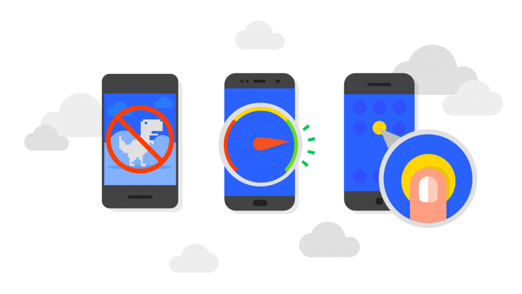 Illustratie voordelen Progressive Web Apps (PWA)