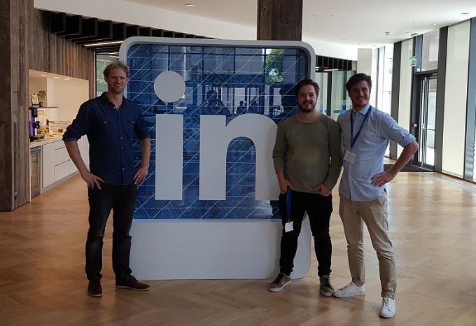 SDIM bezoek aan LinkedIn Dublin