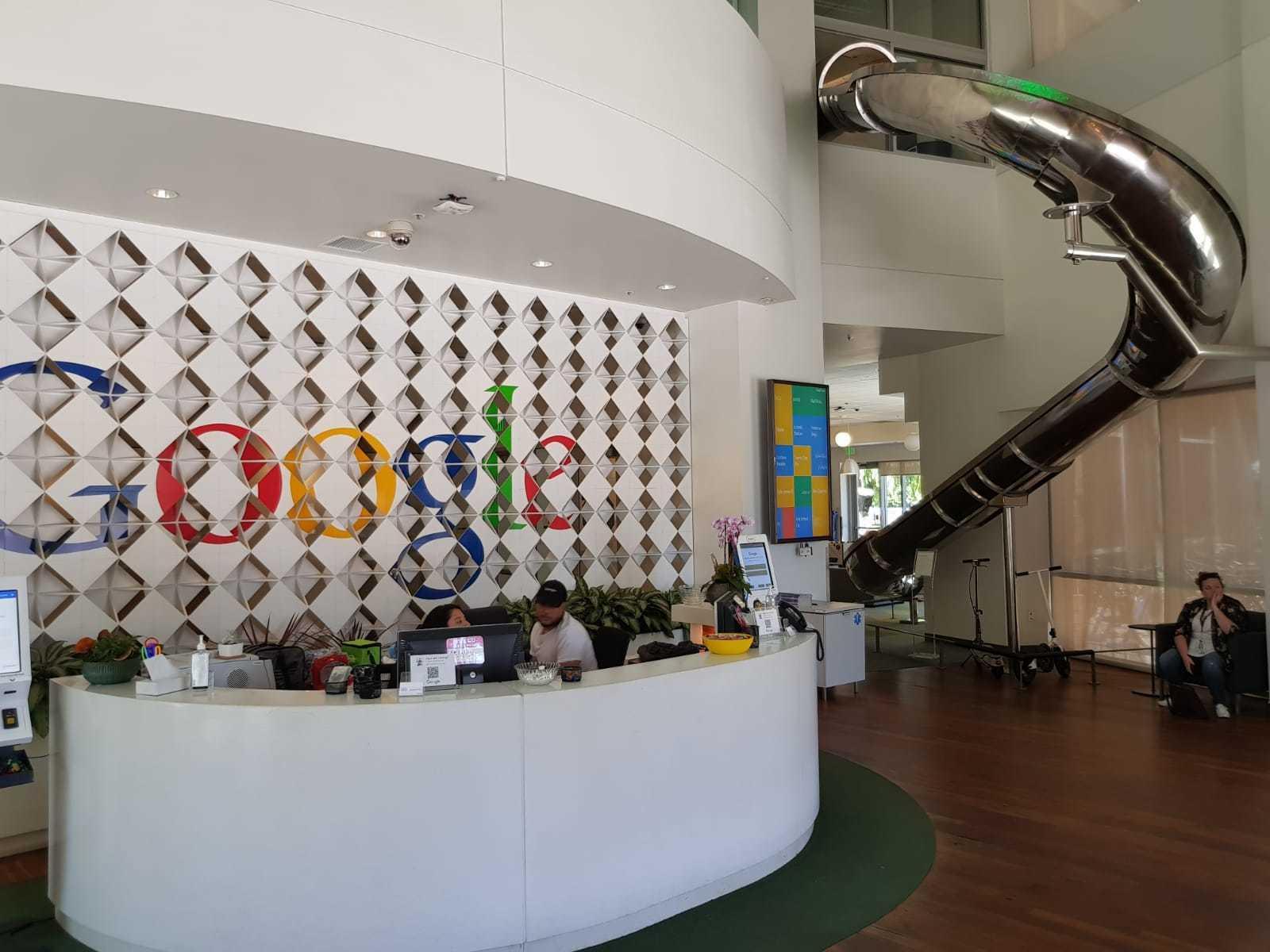 Googleplex glijbaan
