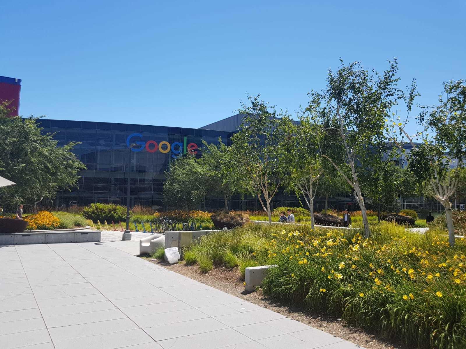 Googleplex hoofdgebouw
