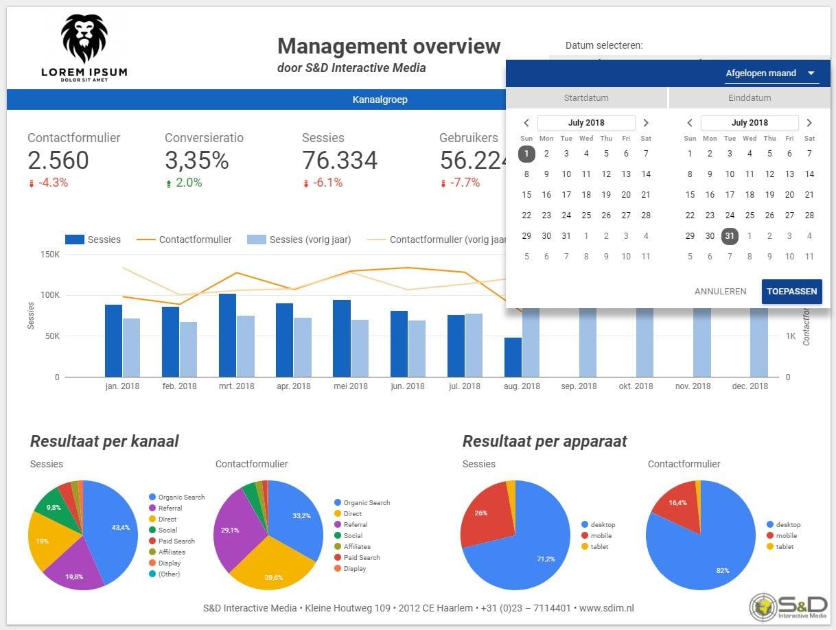 Google Data Studio - Realtime