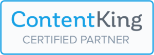 ContentKing SEO tooling Certified Partner