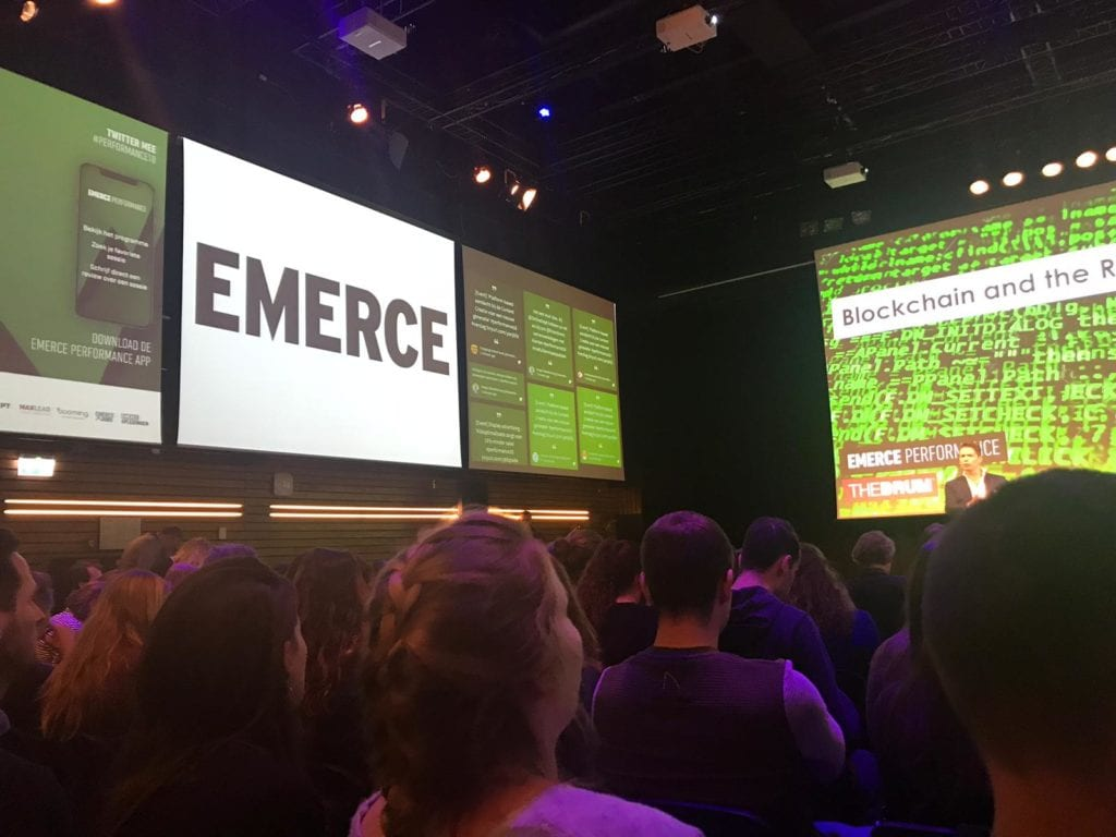 Een impressie van Emerce Performance 2018