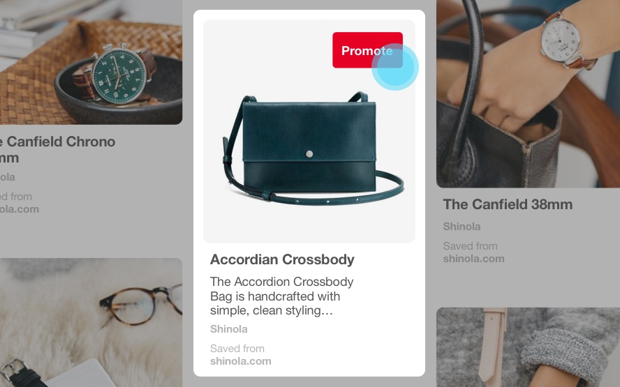 Pinterest Advertising. Adverteer met uw producten of diensten.