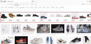 Google Shopping in Google Afbeeldingen
