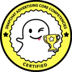 Snapchat advertising core competenties certified agency