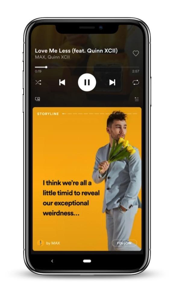 Spotify Verhalen