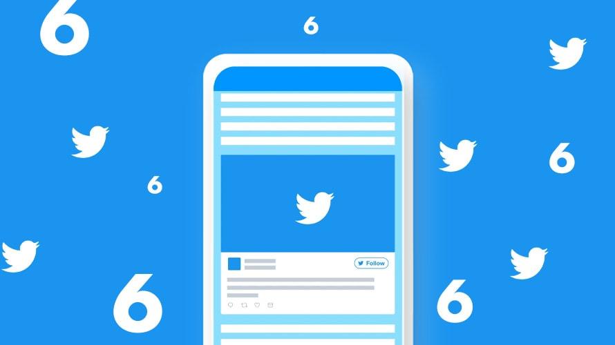 Twitter 6 seconden biedingen