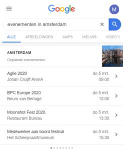 evenementen in Amsterdam
