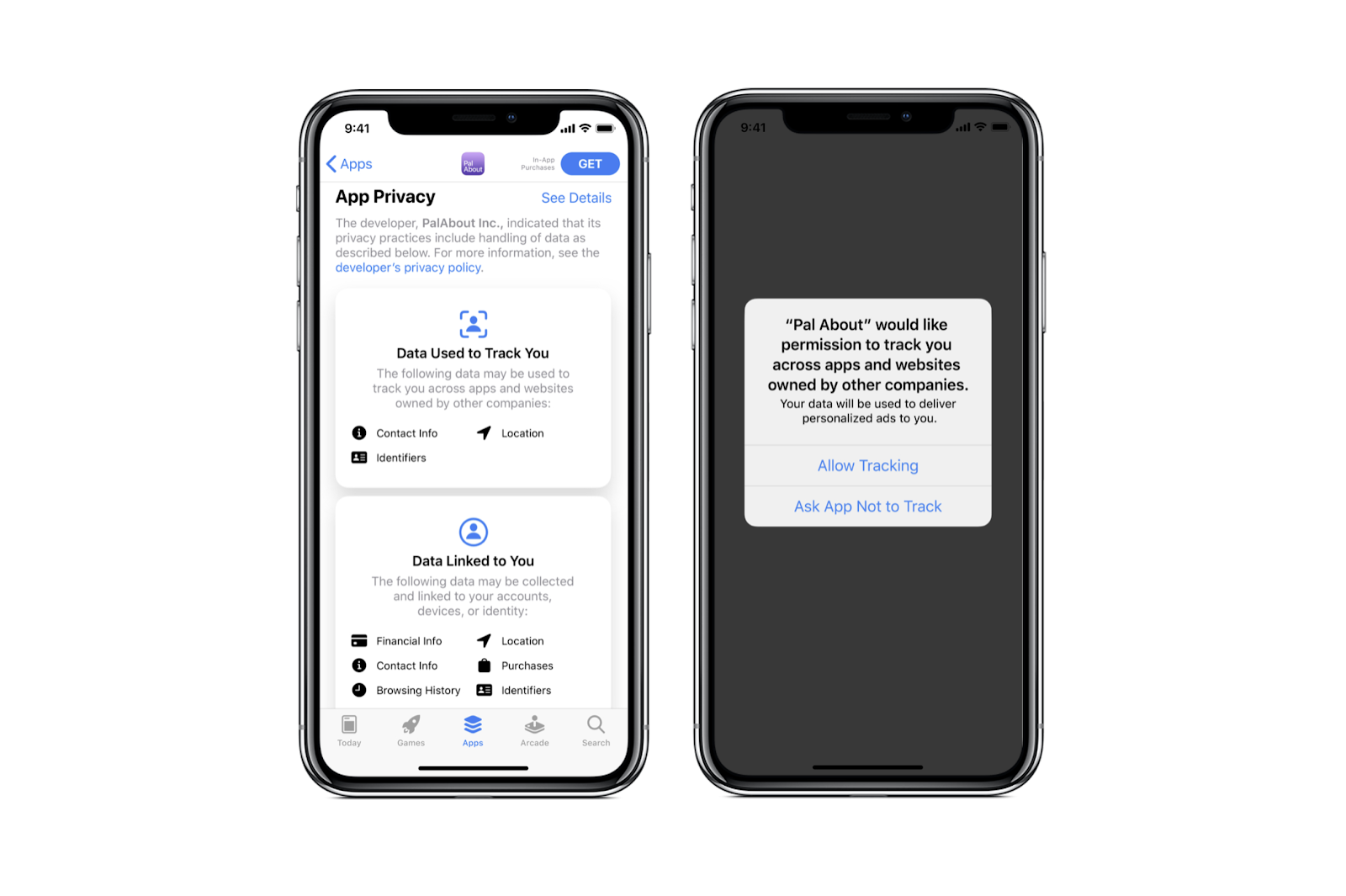 iOS 14 - Privacy Melding