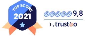 Trustoo Top Score badge